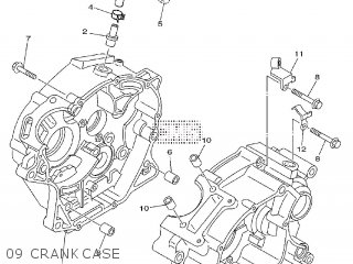 Yamaha TT-R125LW 2011 19CK EUROPE 1K19C-300E1 parts lists