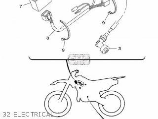 Yamaha TT-R125LW 2015 2CP6 EUROPE 1P2CP-300E1 parts lists
