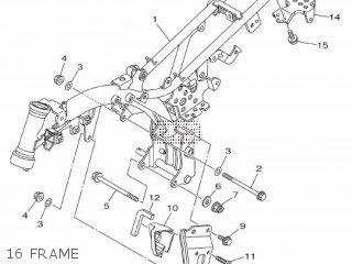 Yamaha TT-R50E 2013 2CJ3 EUROPE 1M2CJ-100E1 parts lists