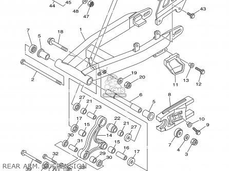 Yamaha Tt125r Tt125rc 2000 (y) Usa California parts list