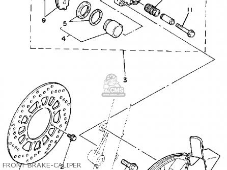 Yamaha Tt225 Offroad 1986 (g) Usa Canada parts list