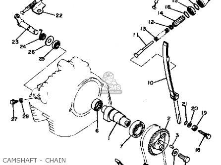 Yamaha TT250 1981 (B) USA parts lists and schematics
