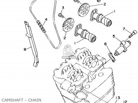 Yamaha Tt250r Tt250rc 1999 (x) Usa California parts list