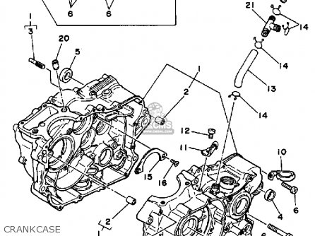 Yamaha 350 Carb Diagram, Yamaha, Free Engine Image For