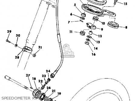 Yamaha TT500 OFFROAD 1981 (B) USA parts lists and schematics