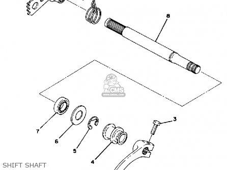 Yamaha Tt500d Off-road 1977 parts list partsmanual partsfiche
