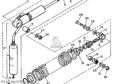 Yamaha Tt600 Offroad 1983 (d) Usa Canada parts list