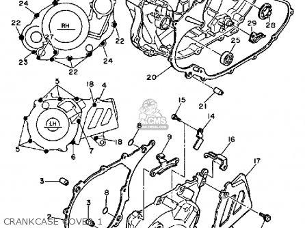 Yamaha TT600 OFFROAD 1985 (F) USA parts lists and schematics
