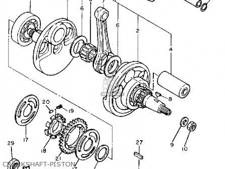 Yamaha TT600 OFFROAD 1986 (G) USA parts lists and schematics