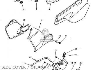 Yamaha TT600E 1994 4GV2 ITALY 244GV-354E1 parts lists and