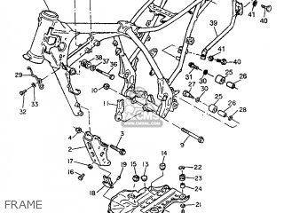 Yamaha TT600E 1996 4GV4 ITALY 264GV-300E2 parts lists and
