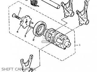 Yamaha Tt600k Off Road 1983/1984 parts list partsmanual