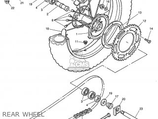 Yamaha TT600R 1999 5CH2 ITALY 295CH-300E1 parts lists and
