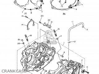 Yamaha TT600RE 2004 5CH5 ARGENTINA 1C5CH-300E2 parts lists