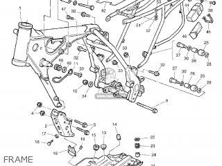 Yamaha TT600RE 2004 5CH5 CZECH REPUBLIC 1C5CH-300E2 parts