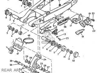 Yamaha TT600S 1995 4LW2 ITALY 254GV-300E2 parts lists and