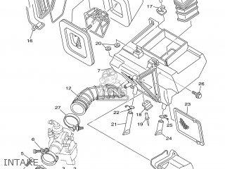 Yamaha TTR125 2002 5HPB ENGLAND 1A5HP-100E2 parts lists