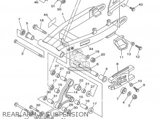 Yamaha TTR125 2007 1B2H EUROPE 1F1B2-100E1 parts lists and