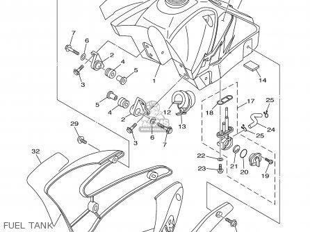 Yamaha TTR125 TTR125L 2001 (1) USA / LARGE WHEEL MODEL