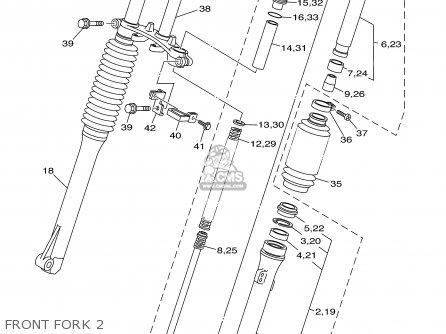 Yamaha Ttr125 Ttr125l 2003 (3) Usa / Large Wheel Model