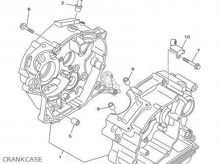 Yamaha Ttr125e Ttr125lwe 2003 (3) Usa / Large Wheel Model