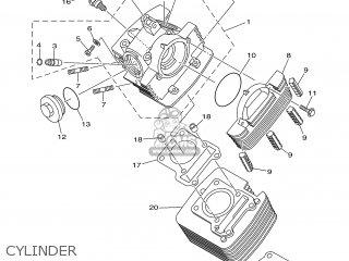 Yamaha TTR125L 2002 5HPD BELGIUM 1A5HP-100E2 parts lists