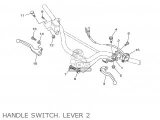 Yamaha Ttr125l 2003 5hph Holland 1b5hp-100e2 parts list