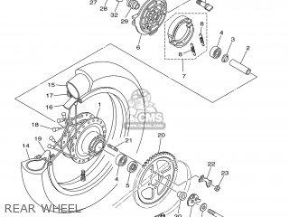 Yamaha TTR125LP 2002 5HPE CANADA 1A5HP-100E2 parts lists