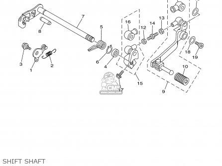 Yamaha Ttr125n/ln 2001 parts list partsmanual partsfiche