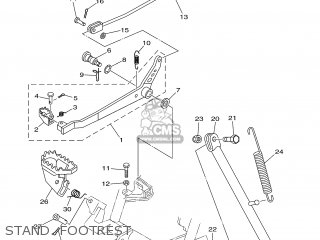 Yamaha TTR125P 2002 5HPB USA 1A5HP-100E2 parts lists and