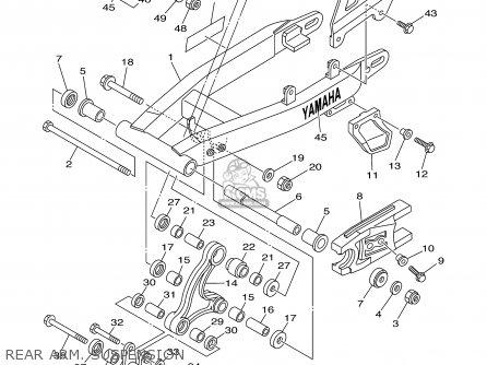 Yamaha Ttr125r/lr 2003 parts list partsmanual partsfiche