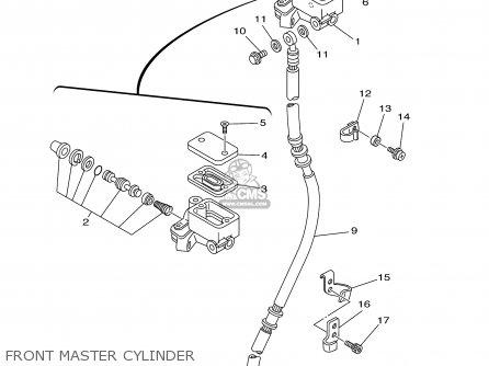 Yamaha Ttr225 Ttr225c 2001 (1) Usa California parts list