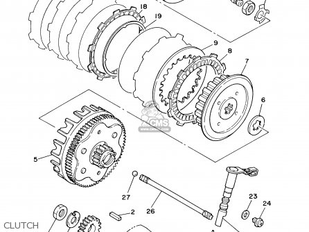 Yamaha Clutch Diagram Heavy Duty Manual Transmission