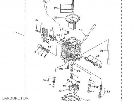 Yamaha Ttr225r/rc 2003 parts list partsmanual partsfiche