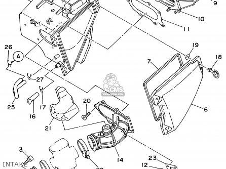 Yamaha Ttr250 Ttr250c 2002 (2) Usa California parts list