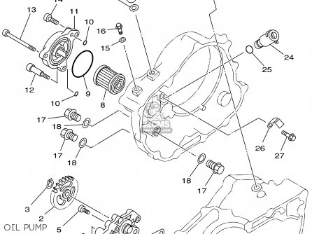 Yamaha Atv Engine Rebuild Diagrams