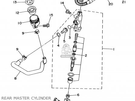 Yamaha TTR250 TTR250C 2002 (2) USA CALIFORNIA parts lists