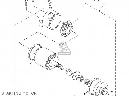 Yamaha TTR250 TTR250C 2003 (3) USA CALIFORNIA parts lists