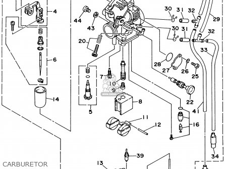 2003 Yamaha Ttr 225 Wiring Diagram Within Yamaha Wiring