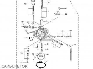 Yamaha TTR50EW 2007 1P64 USA 1F1P6-100E1 parts lists and
