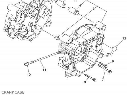 Yamaha Ttr90 Offroad 2002 (2) Usa parts list partsmanual