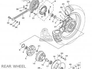 Yamaha TTR90EW 2007 3P26 USA 1F3P2-100EA parts lists and