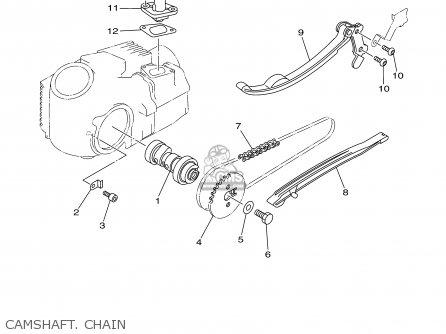 Yamaha Ttr90n 2001 parts list partsmanual partsfiche