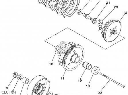 Yamaha Ttr90p 2002 parts list partsmanual partsfiche