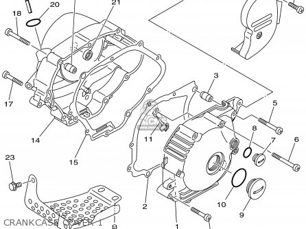 97 Yamaha Xt Enduro Wiring Diagram