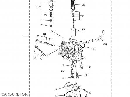 Yamaha Ttr90r 2003 parts list partsmanual partsfiche