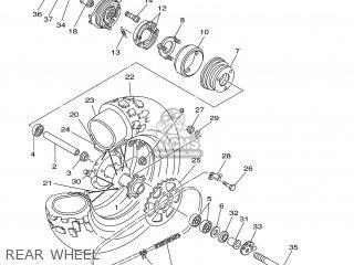 Yamaha TW125 2000 5EK3 FINLAND 105EK-300E1 parts lists and