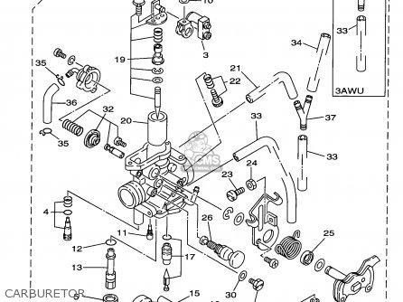 Yamaha TW200 TW200C TRAILWAY 1999 (X) USA CALIFORNIA parts