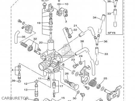 Yamaha Tw200 Tw200c Trailway 2000 (y) Usa California parts