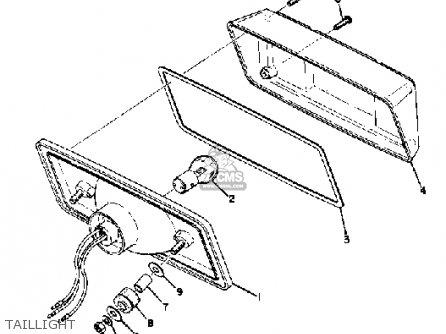 Yamaha TW433F 1974 parts lists and schematics